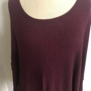 Maurices Tops - CLOSETCLSING Maurice's waffle knit thermal